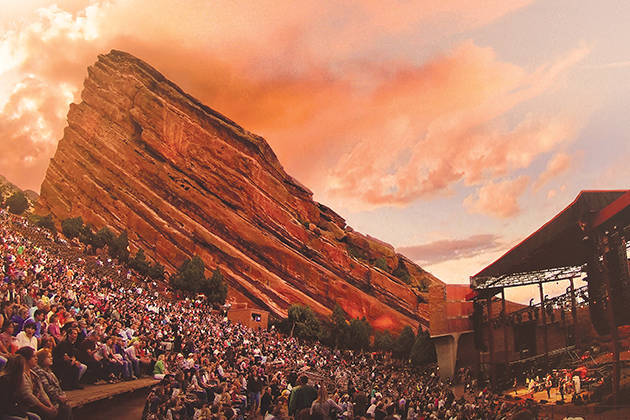 Denver Post S 10 Most Memorable Concerts In Red Rocks History John